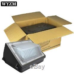 6 Pack LED 150Watt Wall Pack Light Fixture 1000-1200W 1500LM HPS Replacement