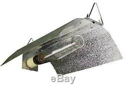 Horticulture 1000 Watt HPS Bulb and Wing Reflect Hood Set Kit for Plant Growing