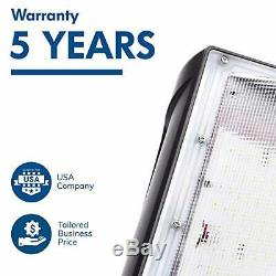 Hyperikon 120W LED Wall Pack, IP65, HPS HID Replacement, 5000K, (120.0 Watts)