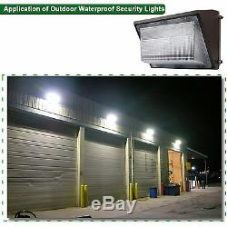 LED Wall Pack Lights 4 Pack 100 Watt Daylight, 400600W HPS/HID Bulb Replacement