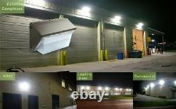 10 Pack 150 Watt Led Wall Pack Light, Remplacer 1000w Hps / Hid Ampoule, 5500k Daylight