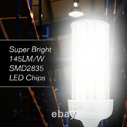 80w Led Corn Light Remplacer 320watt Mh Hps Parking Lot Factory Lamp Fixture Bulb